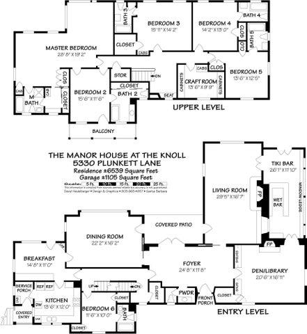 5330 Plunkett Lane Floorplan
