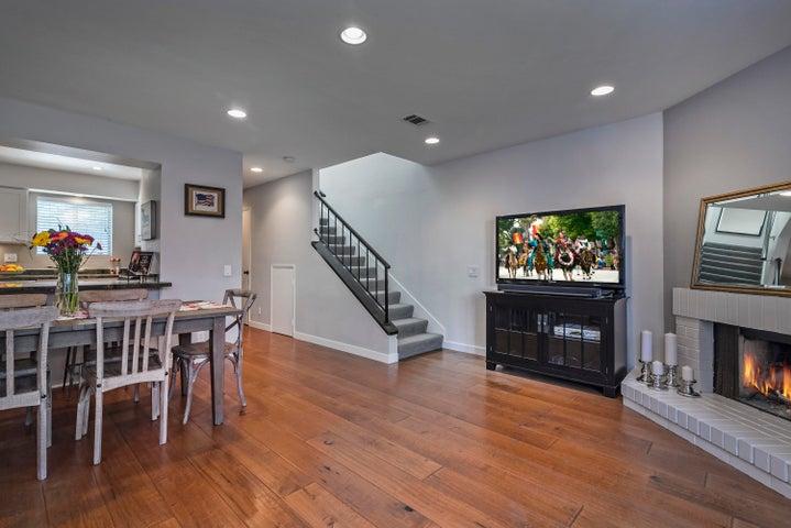 Beautiful Maple Hardwood Floors. Dimmable Recessed Lighting.