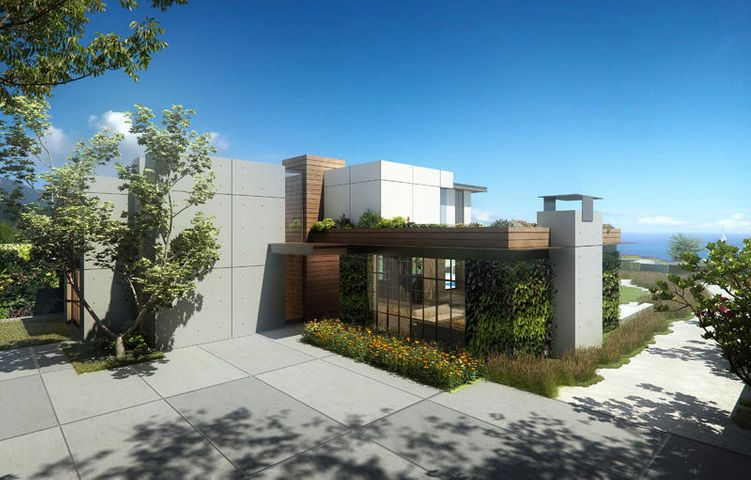 Rendering of Approved Residence by The Warner Group Architects