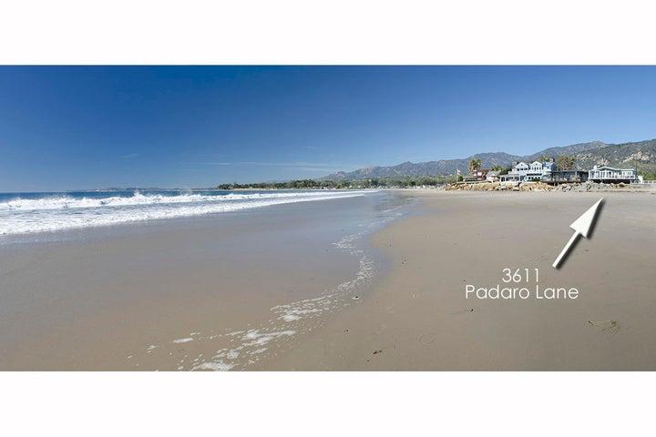 01_3611 Padaro Lane View up beach