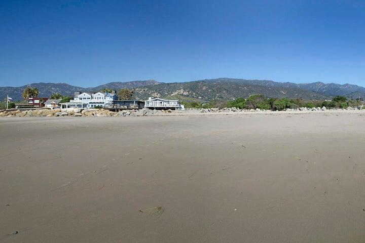 02_3611 Padaro Lane View from beach towa