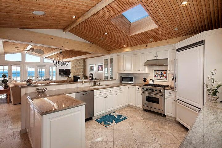 12_3611 Padaro Lane living room kitchen