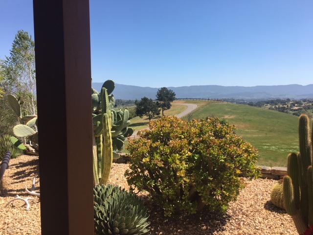 View of Santa Ynez Range