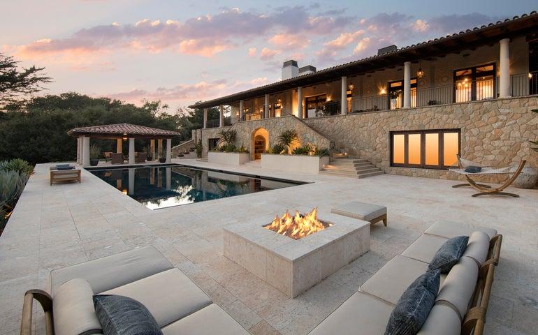 extraordinary Santa Barbara contemporary estate