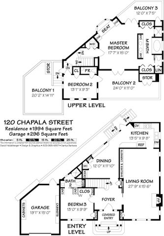 120 Chapala Street - floorplan