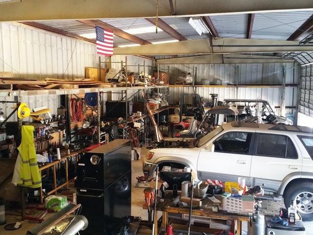 13 Metal Barn Interior 2