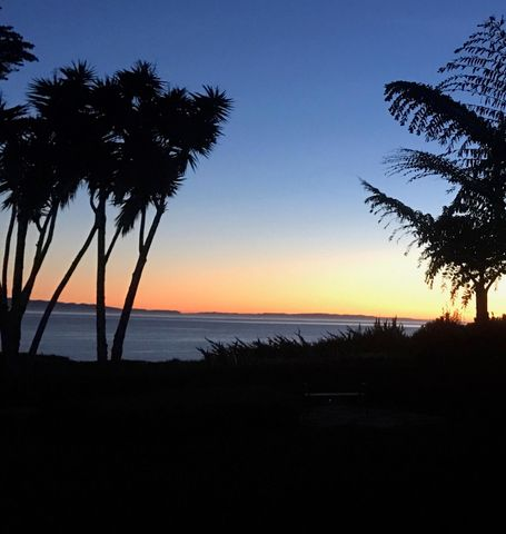 Sunsets from garden