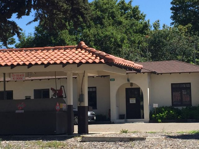 Ranch Office and Gas Station