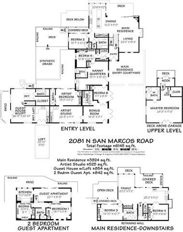 Floor Plan - 2081 N San Marcos Road