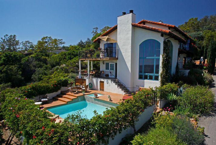 Pool Deck and Home