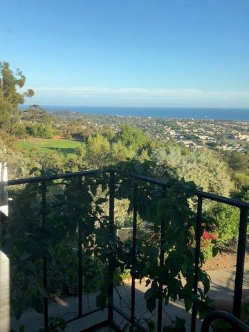 Master Bdr Balcony overlooking the Sea