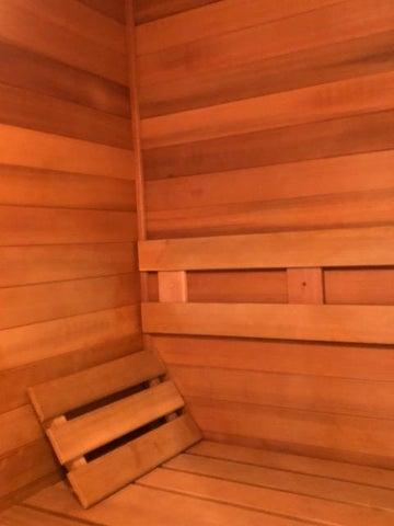 Private Sauna in Master