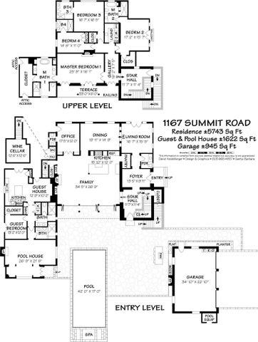 1167 Summit Road Floor Plan