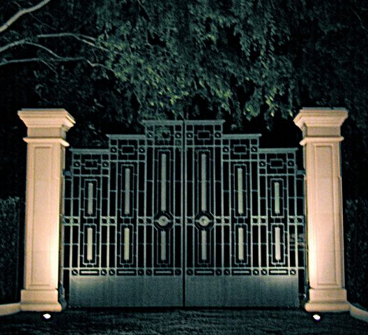 Gate - Evening