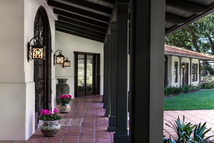 Spanish Style front porch