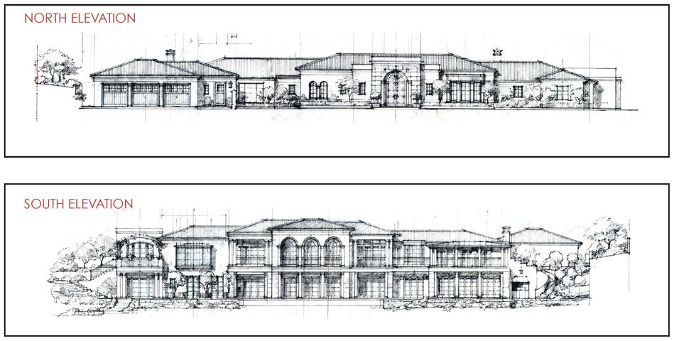 North-South Elevation Renderings