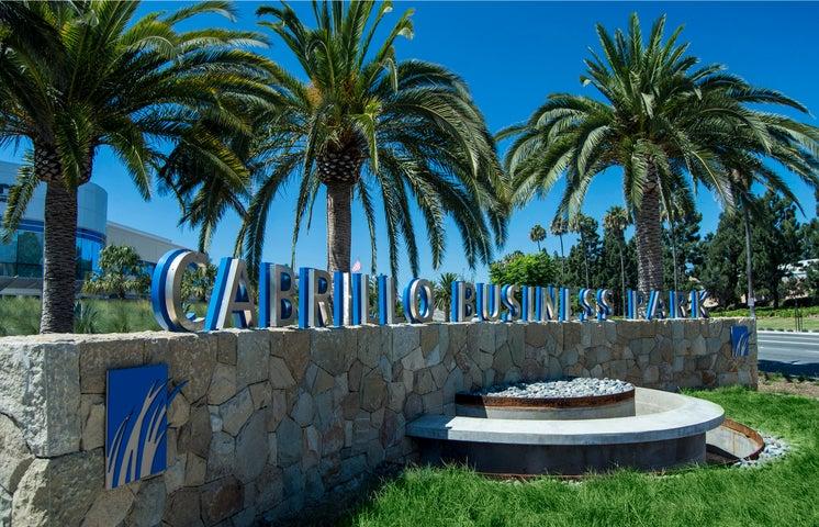 Cabrillo Business Park sign