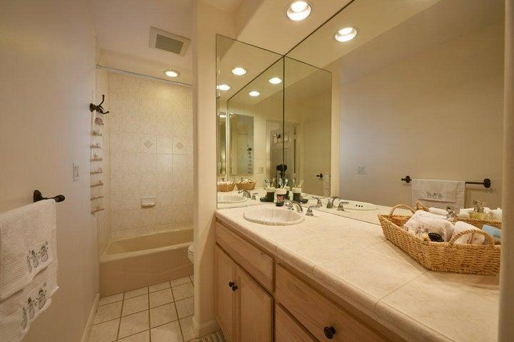 ensuite bath off second bedroom