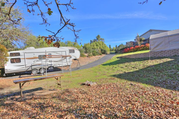 Lower yard & RV parking