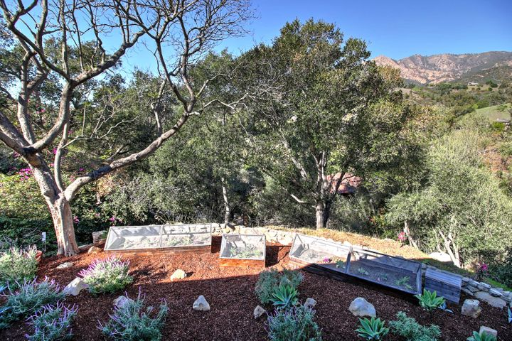 Raised Garden Beds w/ Mtn Views