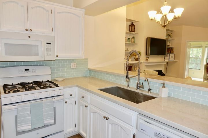 Remodeled Kitchen Opens to Living Room