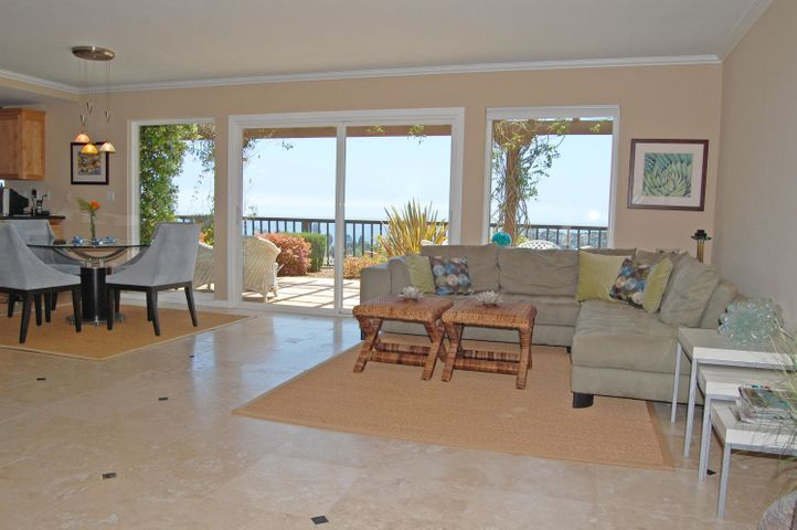 Stunning ocean views from Family Room