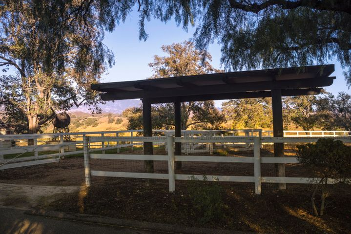 Small Pastures with loafing sheds