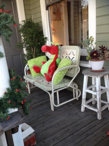 Front Porch & swing