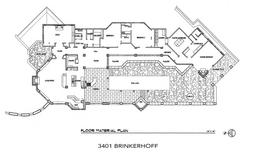 Floor Plan 3401 Brinkerhoff Ave