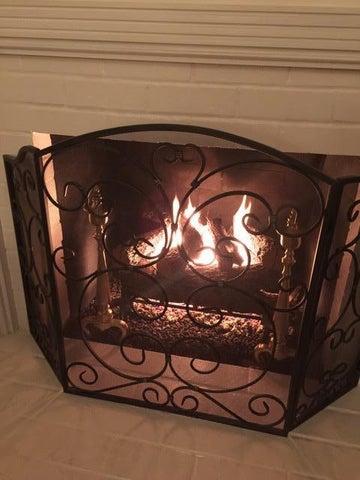 Fireplace/Custom Grate