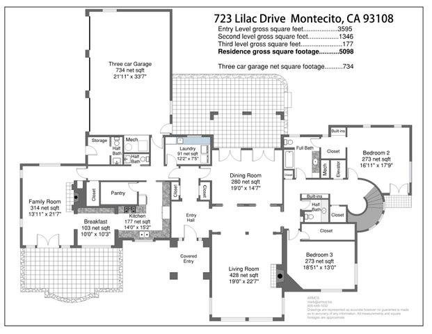 723 Lilac Floor Plan