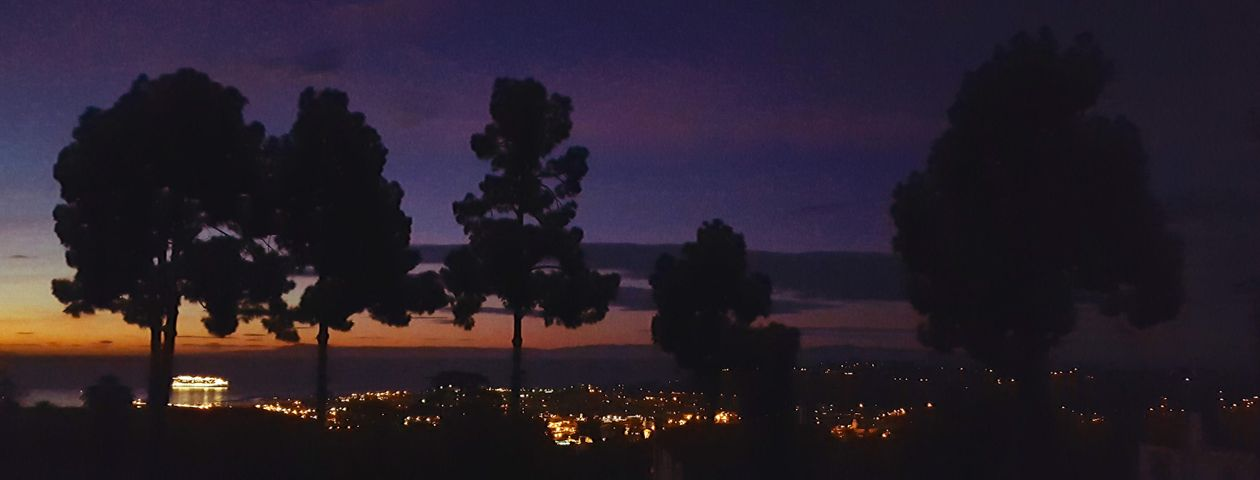 1840 Mission Ridge Night scene
