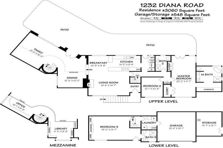 1232 Diana Road Floor plan