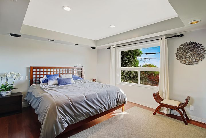 Spacious Entry Level Master Bedroom