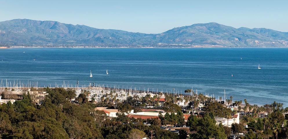 Panoramic ocean, coastline, harbor views