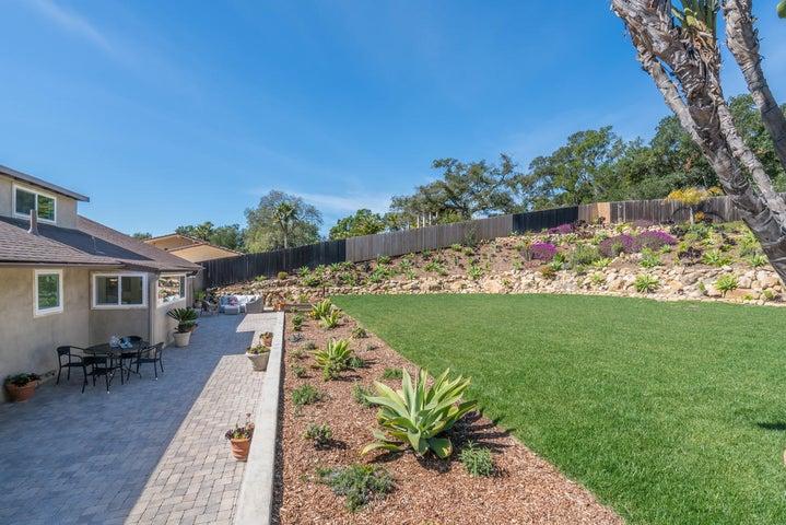 Backyard Patio & Lawn