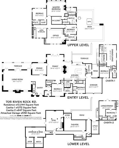 Floor Plan -Main House