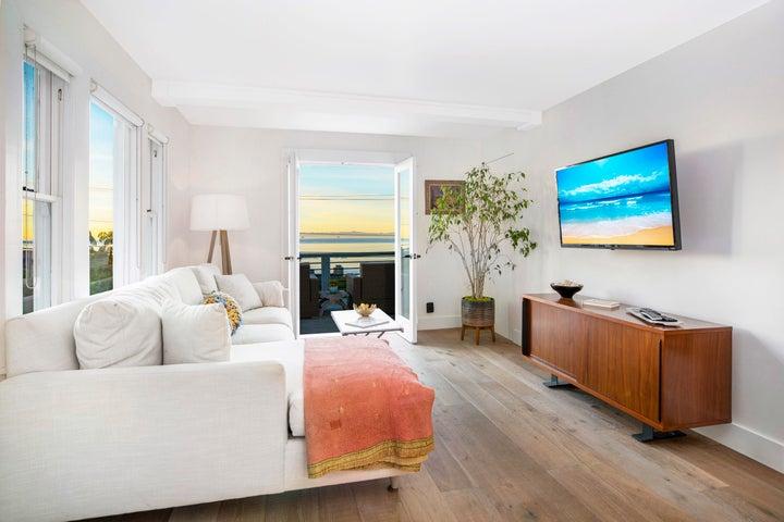 Sand Living Room and Views