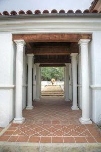 Spanish Hacienda - Pillared Entry from d