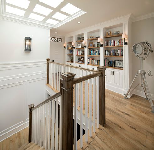 Skylit Staircase