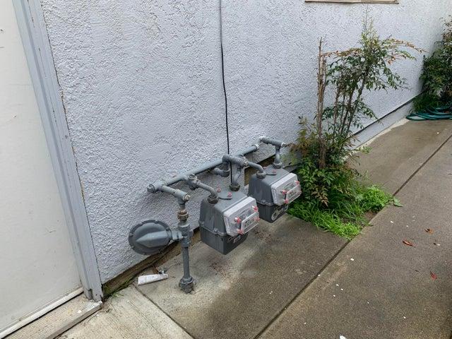 Separate Gas Meters