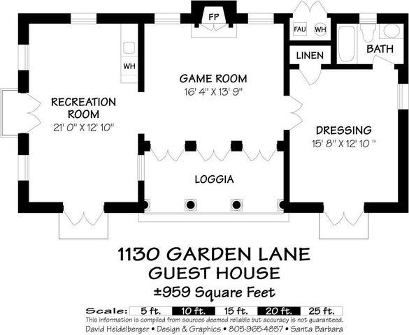 Floor Plan - Guest House