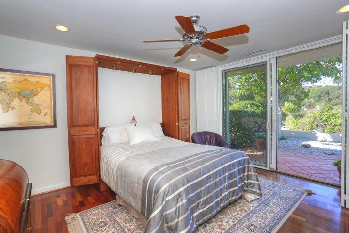 Bedroom off Kitchen