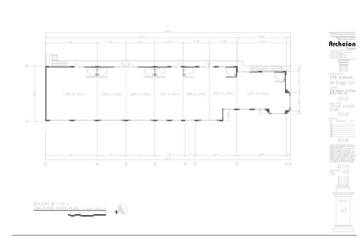 JPEG, 4. Office Spaces, 2nd Floor, Sheet