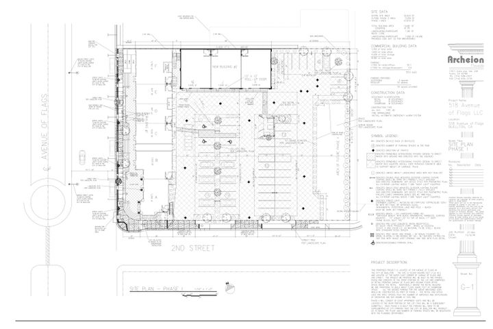 JPEG, 1. Site Plan, Sheet G-a