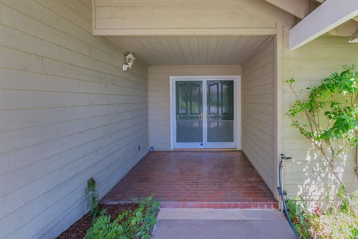 Inviting Entry Patio