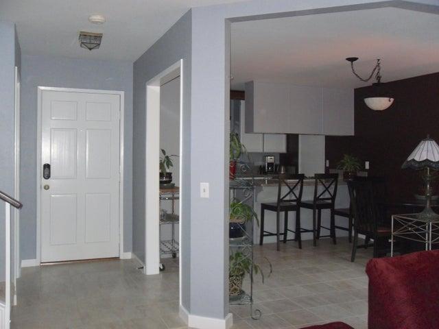 Front door - living room