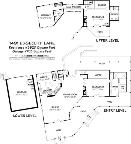1491 Edgecliff Lane FP 1