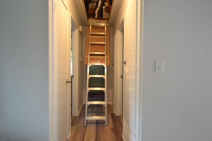 easy attic storage access