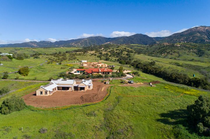 Aerial Mountain View